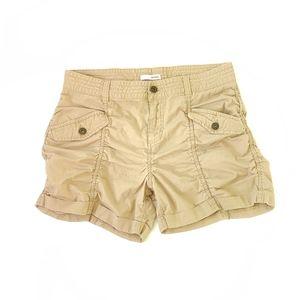 Bongo shorts, cargo shorts, size 11, tan tone.